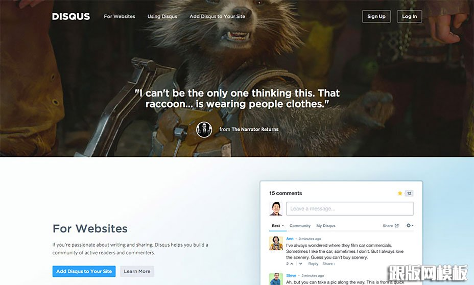 国外14个特别走心的网站引导页设计-网页设计-跟版网