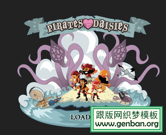 Pirates Love Daises