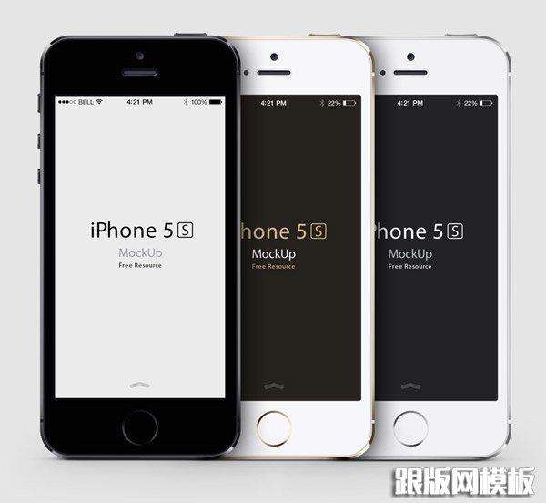 iphone 5s社会民主党矢量样机