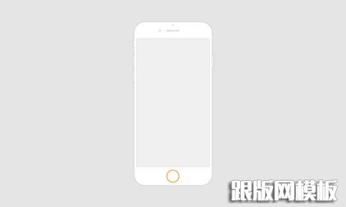 50个扁平化iphone6设计素材