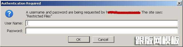 其中第2行是其中认证 第5行AuthType指明了基本认证方式,这是一种不加密的认证 第6行AuthName指明了认证区域,在我们输入用户名和密码的时候起到提示的作用 第7行AuthUserFile设置了密码文件的位置,该文件不应该在网站服务下(除非你想让别人知道用户名和密码) 第8行valid-user指明了所有在password.